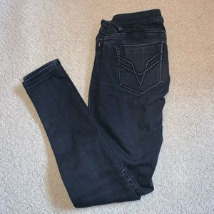 Black Low Rise Skinny VIGOSS Jeans